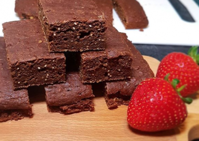 Omega 3 Chocolate Brownies